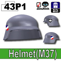 German Stahlhelm Helmet Printed