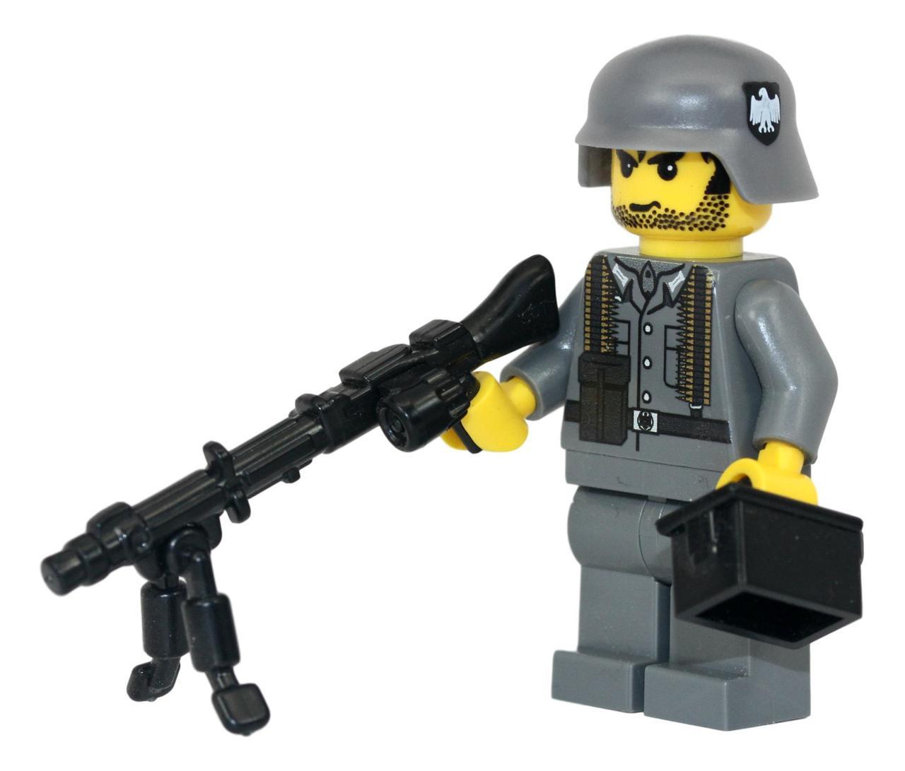 WW2 German MG34 Soldier