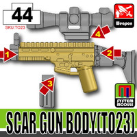 SCAR Receiver DARK TAN