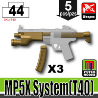 MP5 Attachments DARK TAN
