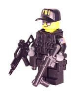 R6S FBI Ash Minifigure