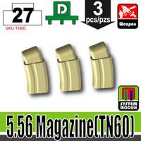 5.56 Ammo Mag TAN x3