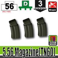 5.56 Ammo Mag DEEP GREEN x3