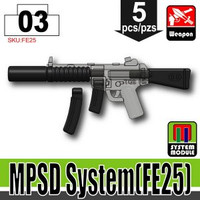 MP5SD Attachments BLACK