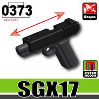 Black/CombatBlack SG17 Pistol