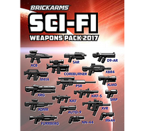 Brickarms Sci-Fi Pack - 2017