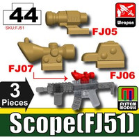 Scope Attachments Dark Tan