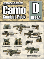 Brickarms Camo Combat Pack Delta