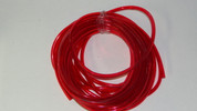 "1/4"" Red Transparent Fuel Line"
