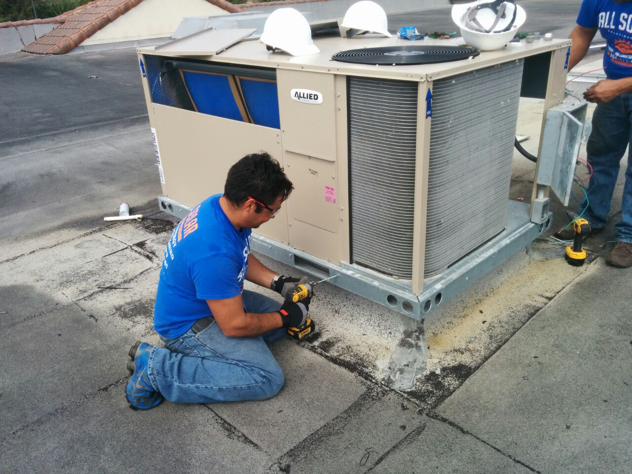 New  Allied Commercial Packaged Rooftop Z Series Unit