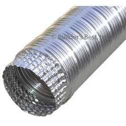 "Flexible Ul Duct 8"" 48 Ft"
