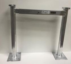 "F & L Aluminum -  Cond Stand Leg 14""    Heavy"