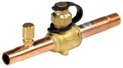 "Danfoss - 1/4"" Ball Valve w/Access Port"