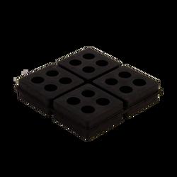 "DiversiTech - 4"" Iso-Cube Pad"