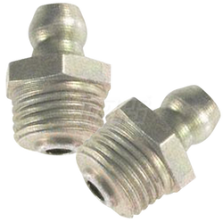 "Mars - 1/8"" npt Grease Fitting - Short/Straight"