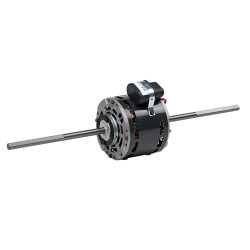US Motors - 1210 Double Shaft Direct Drive Motor: .167HP 1350RPM 127V