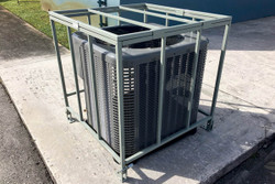 Condensing Unit Cage - Powder Coated Galvanized Steel