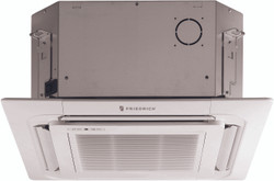 Friedrich - Ceiling Cassette Mini Split Air Conditioner - 18,000 BTU - Heat Pump