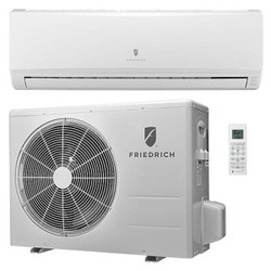 Friedrich - Concealed Duct Mini Split Air Conditioner - 9,000 BTU - Heat Pump