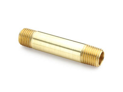 "Brass 1"" Pipe Nipple"