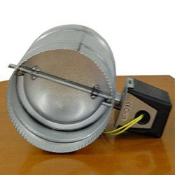 "Motorized Damper 8"" N/C"