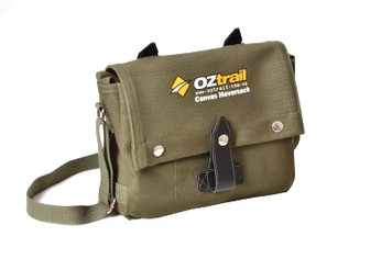 Oztrail Canvas Haversack Bag