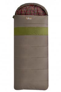 Oztrail Cotton Canvas Mega Hooded -12C Sleeping Bag