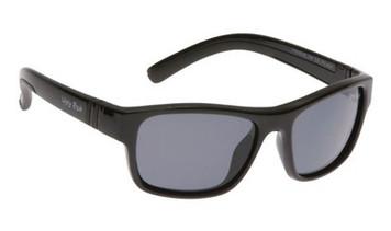 Ugly Fish Junior Polarised Sunglasses PK699 Black Frame Smoke Lens