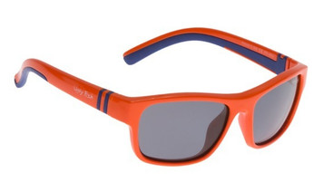 Ugly Fish Junior Polarised Sunglasses PK699 Orange Frame Smoke Lens