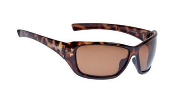 Ugly Fish Basic Polarised Sunglasses P1366 Shiny Brown Frame Brown Lens