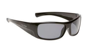 Ugly Fish Basic Polarised Sunglasses P3044 Black Frame Smoke Lens