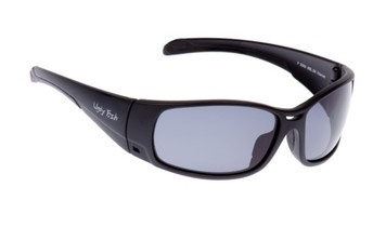 Ugly Fish TR-90 Polarised Sunglasses P5066 Matt Black Frame Smoke Lens