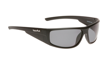 Ugly Fish TR-90 Polarised Sunglasses P8084 Matt Black Frame Smoke Lens
