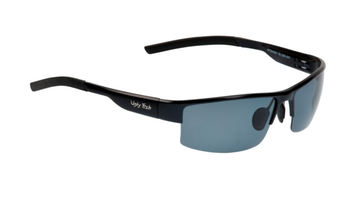 Ugly Fish Triacetate(TAC) Polarised Sunglasses PT24285 Black Aluminium Frame Smoke Lens