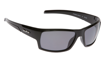 Ugly Fish Triacetate(TAC) Polarised Sunglasses PT9366 Black TR90 Frame Smoke Lens