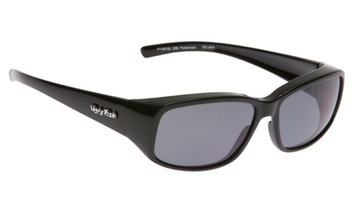 Ugly Fish Polarised P106 Over Sunglasses Black TR-90 Frame Smoke Lens