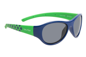 Ugly Fish Junior Polarised Sunglasses PK922 Blue Frame Smoke Lens