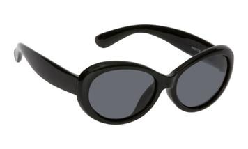 Ugly Fish Polarised Sunglasses PKM577 Black Frame Smoke Lens