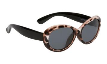 Ugly Fish Polarised Sunglasses PKM577 Cheetah Print Frame Smoke Lens