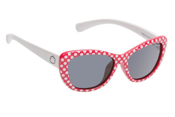 Ugly Fish Polarised Sunglasses PKM504 Red Frame Smoke Lens