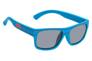 Ugly Fish Polarised Sunglasses PKR 729 Blue Frame Smoke Lens