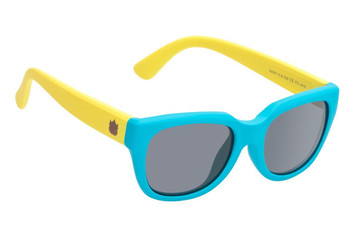Ugly Fish Polarised Sunglasses PKR 715 Blue Frame Smoke Lens