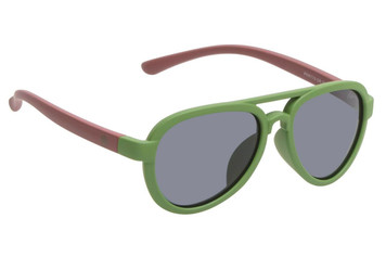 Ugly Fish Polarised Sunglasses PKR 776 Green Frame Smoke Lens
