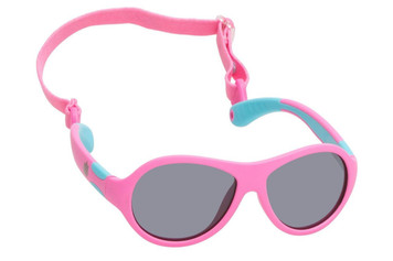 Ugly Fish Polarised Sunglasses PKR 122 Pink Frame Smoke Lens