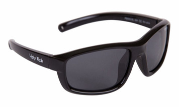 Ugly Fish Polarised Sunglasses PB002 Black Frame Smoke Lens