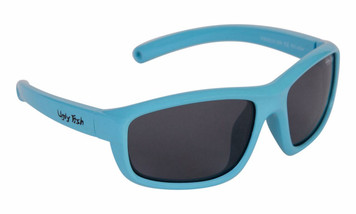 Ugly Fish Polarised Sunglasses PB002 Blue Frame Smoke Lens