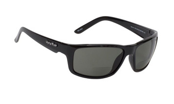 Ugly Fish Polarised Bifocal 2.00 Sunglasses Xenon PN3252 Black Frame Smoke Lens