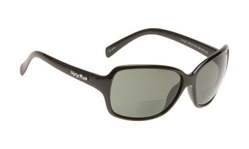 Ugly Fish Polarised Bifocal 2.50 Sunglasses Twilight PN3774 Black Frame Smoke Lens