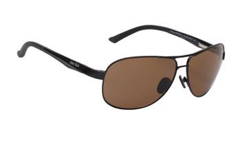 Ugly Fish Polarised Nylon Meteor Sunglasses PN20011 Black Frame Brown Lens