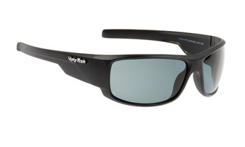 Ugly Fish Polarised Krypton Sunglasses PC3266 Matt Black Frame Smoke PC Lens